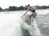 MGK Wakesurfing with the boys