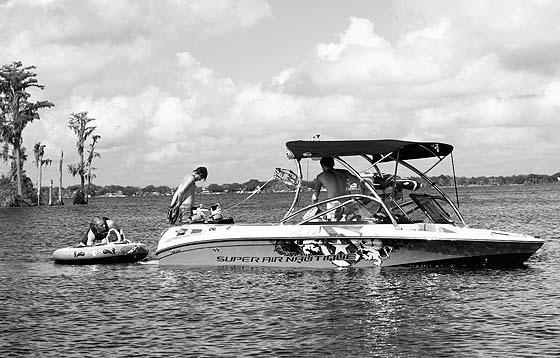 boat on butler