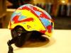 Grommet helmet