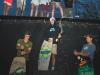 The Wakeskate Tour Gridiron. 1st Austin Pastura, 2nd Nick Robinson, 3rd Andrew Pastura