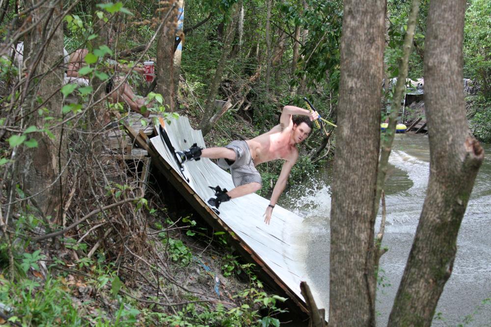 Chris Moore Bayou Wall Ride