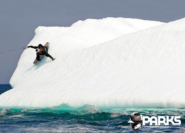 Yep, jibbing icebergs...