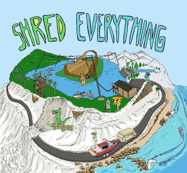 shred everything print