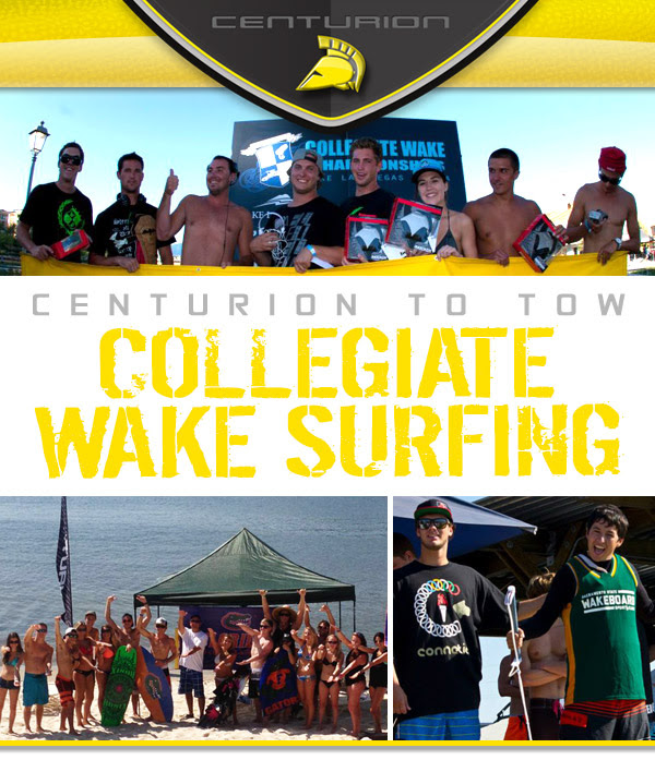 Wakesurfing, Centurion, Collegiate
