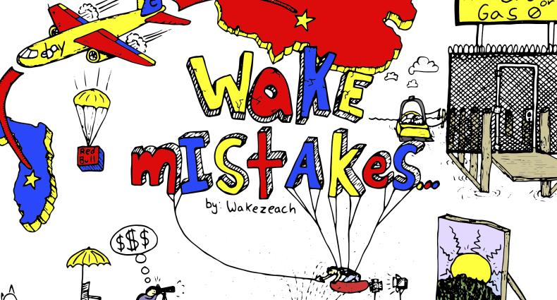 Wake Mistakes
