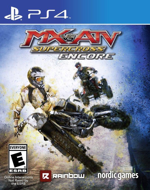 MX vs Atv Supercross Encore Cover