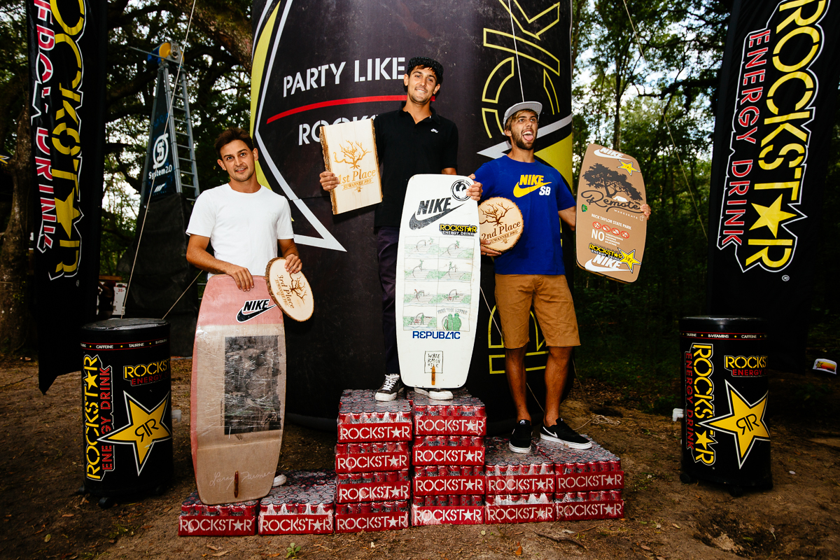 Men's Podium: 1) Andrew Pastura 2) Nick Taylor 3) Austin Pastura