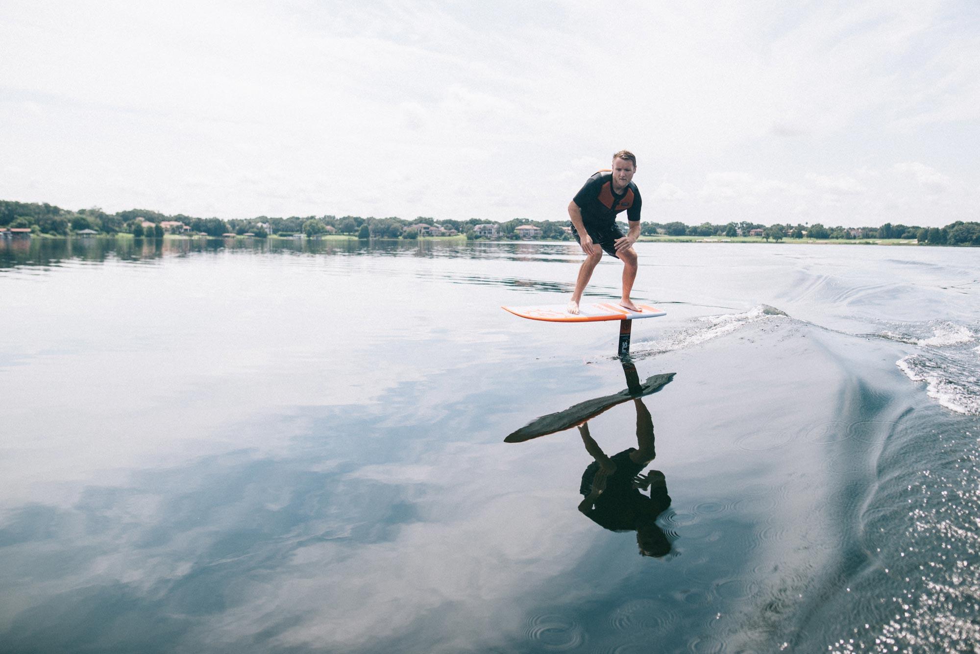 Slingshot Hover Glide Foil Wakesurf Package - Alliance Wakeboard
